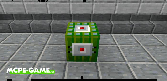 Липкая взрывчатка из мода More TNT на Майнкрафт