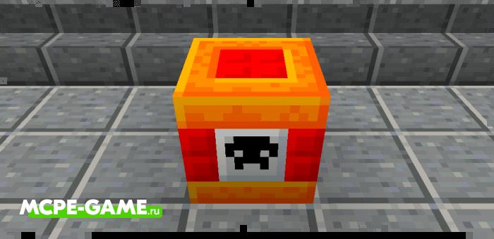 Напалм из мода More TNT на Майнкрафт
