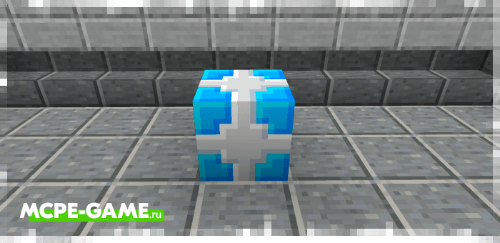 Криогенная бомба из мода More TNT на Майнкрафт