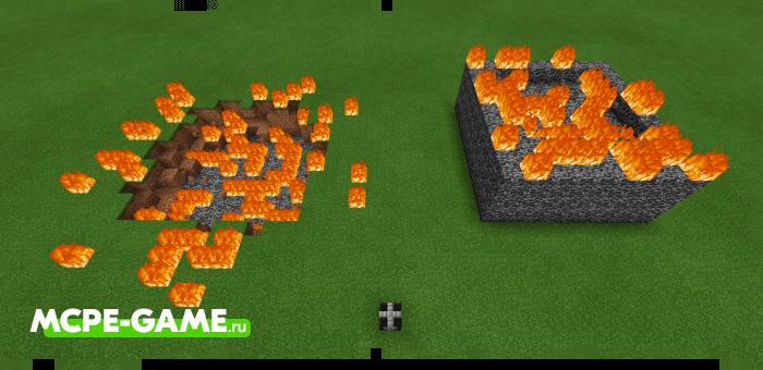 Уничтожитель коренной породы из мода More TNT на Майнкрафт