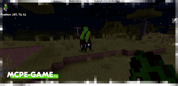 Орки из мода на мифических существ Mythical Creatures для Minecraft PE