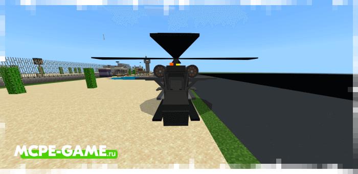 Night Owl Chopper — Мод на военный вертолет