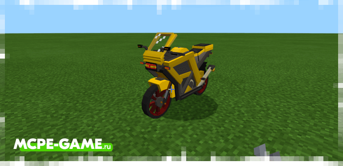 Ninja 200 — Мод на спортивный мотоцикл