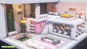Видео-урок по постройке дома для девушек в Майнкрафт