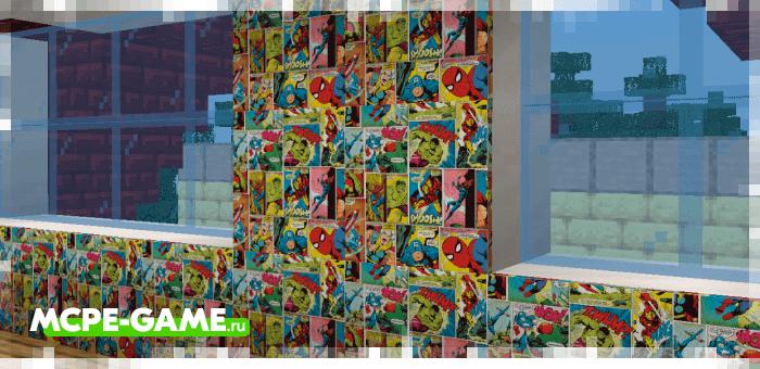Real Furniture — Мод на настоящие обои в Майнкрафт