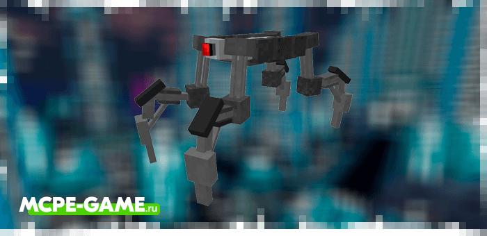 Titan from the Robotic Revolution robot mod in Minecraft PE