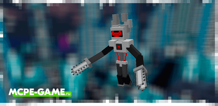 Reaper from the Robotic Revolution robot mod in Minecraft PE