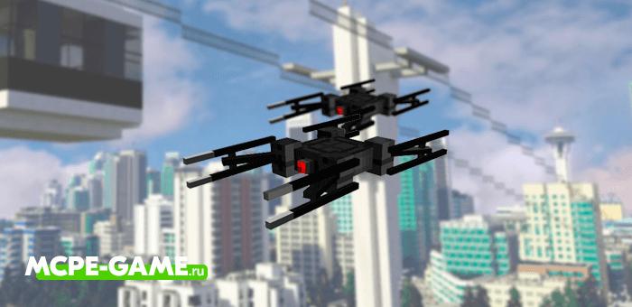 Robotic Revolution — Мод на боевых роботов и дронов