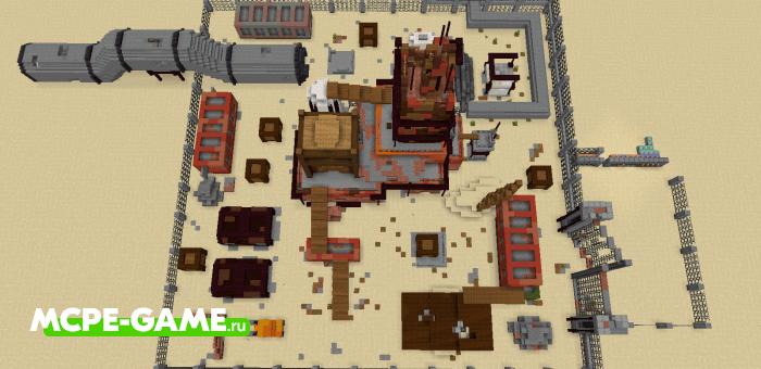 Rust — Майнкрафт PvP карта из Call of Duty
