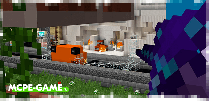 Bank Robbery map for Minecraft