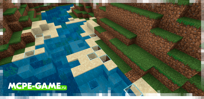 Sand becomes glass with solar apocalypse mod in Minecraft