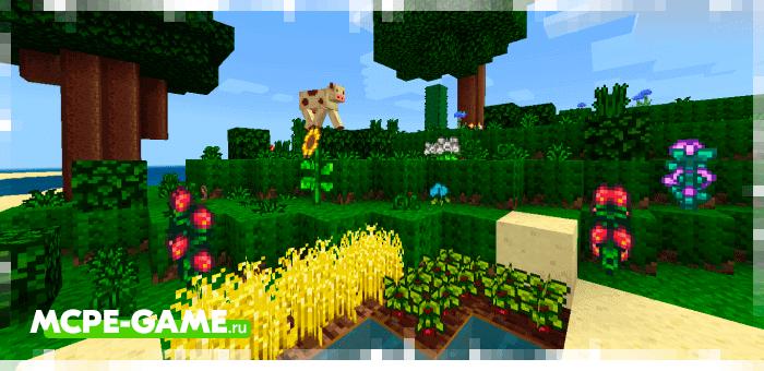 Набор текстур Stardew Valley для Minecraft PE