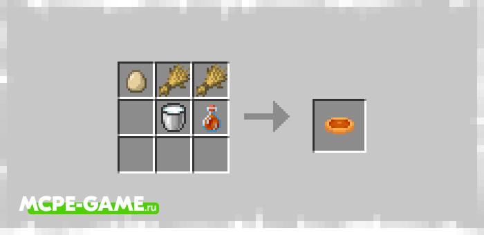 Рецепт крафта пирога с кленовым сиропом из мода Terracotta Expansion на Майнкрафт ПЕ