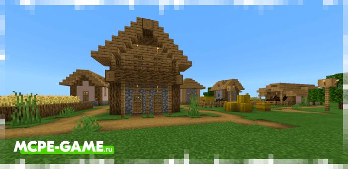 Village Generator — Мод на быструю генерацию деревень