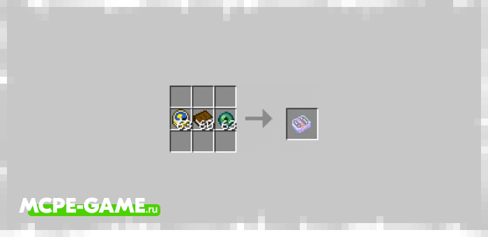 Travel Spell from the Wizardry mod in Minecraft