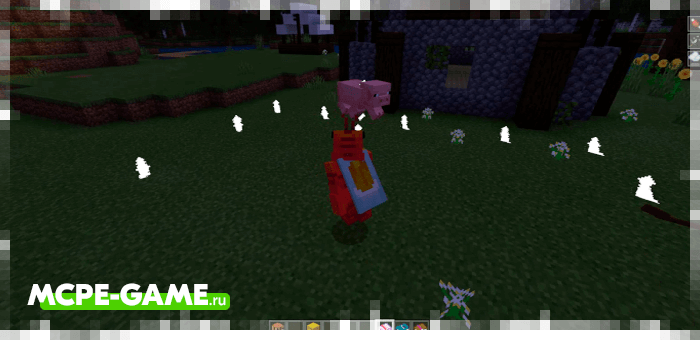 The Flight Spell from the Wizardry mod in Minecraft