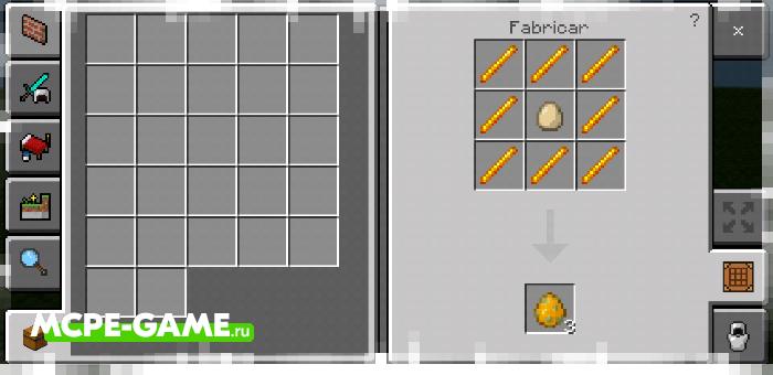 Мод на крафт яиц призыва и секретных предметов
