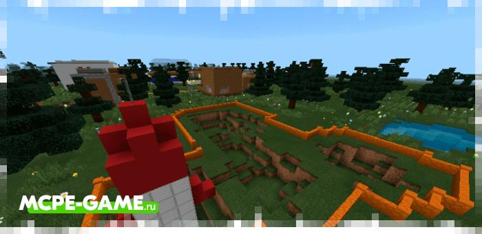 Города Вадпут из Майнкрафт карты на Зомби Апокалипсис Apocalipse Z