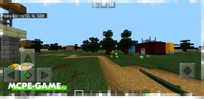 Города Семех из Майнкрафт карты на Зомби Апокалипсис Apocalipse Z
