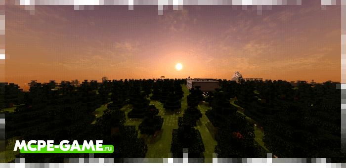 Города Святосвет из Майнкрафт карты на Зомби Апокалипсис Apocalipse Z