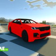 BMW M5 — Мод на современный автомобиль БМВ М5 в рестайлинге