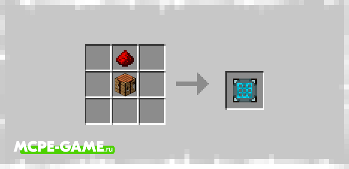 Рецепт крафта станции по созданию роботов из мода Bot-Topia для Minecraft