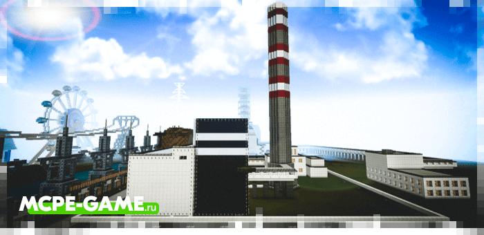 Chernobyl — Карта Чернобыльской Атомной Электростанции