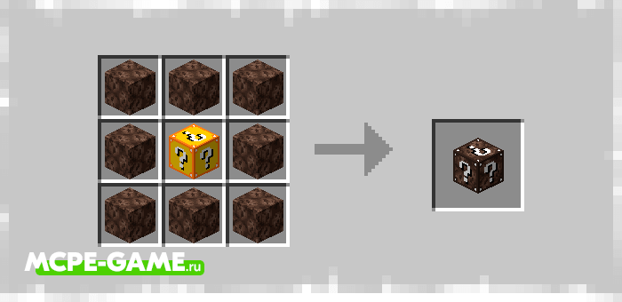 Lucky Block of Sand Showers from Elingo's Lucky Block mod in Minecraft