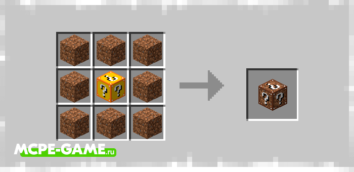Earth Lucky Block from Elingo's Lucky Block mod in Minecraft