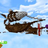 Летучий голландец — Паркур карта высоко в небе