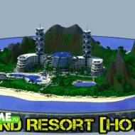Island Resort — курортный отель на удаленном от людей острове