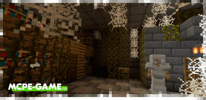 Новые подземные шахты из мода Just Structure на Майнкрафт