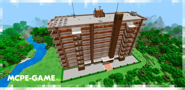 Kerendice Residents — Жилой дом с 40 квартирами