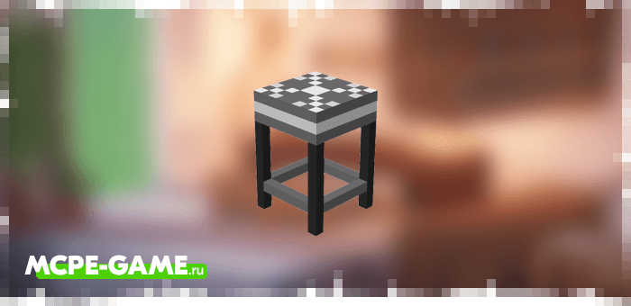 Кухонный стул из мода Kitchen Appliances на Майнкрафт