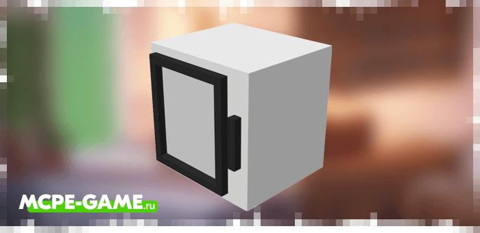 Подвесной шкаф из мода Kitchen Appliances на Майнкрафт