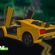 Lamborghini Diablo GTR — Мод на автомобиль Ламборджини Диабло