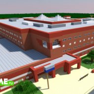 Middle School — Карта с современной средней школой