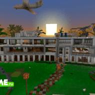Millionaire's Mansion Island — Карта с частным островом и особняком миллионера