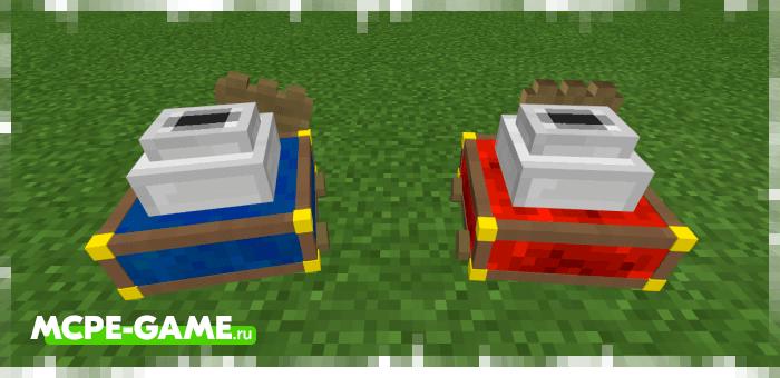 Редстоуновый и лазуритовый генераторы руды из мода Ore Generator