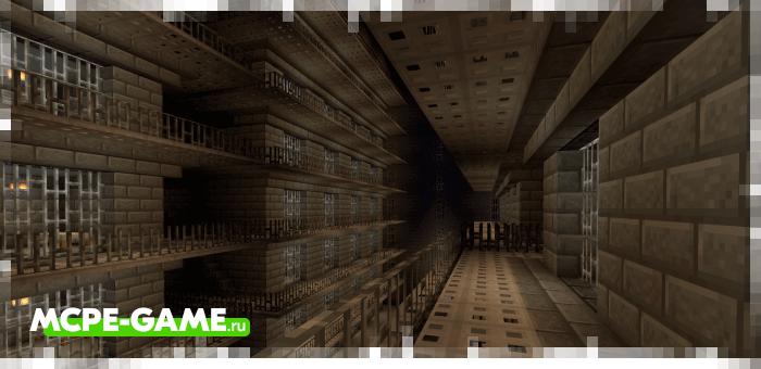 Prison Island — Майнкрафт карта с тюрьмой на острове