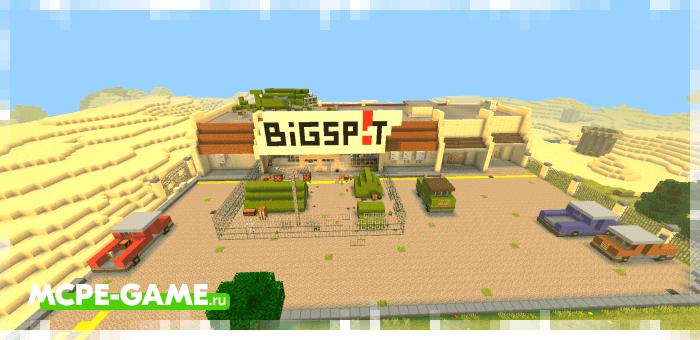 Торговый центр на карте Apocalypse San Flores для апокалипсиса зомби