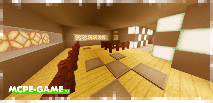 The Skeld — Карта Скелд из игры Амонг Ас для Майнкрафт