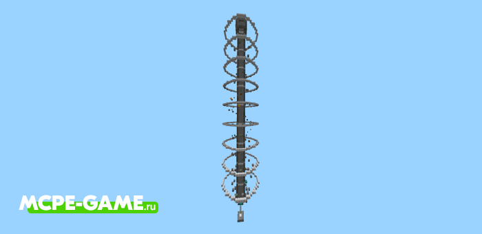Spiral Tower — Легендарная карта паркур спираль
