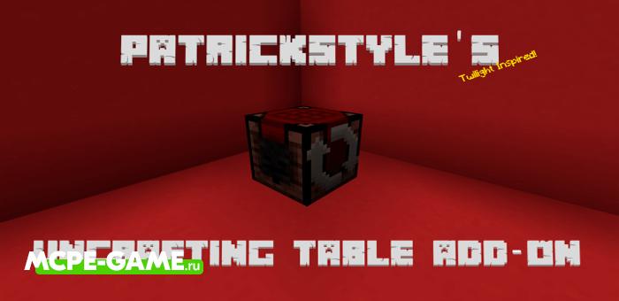 Uncrafting Table — Мод на верстак для разборки предметов