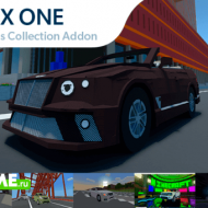CYBOX ONE: Vehicles Collection — Набор из 6 машин и 2 мотоциклов
