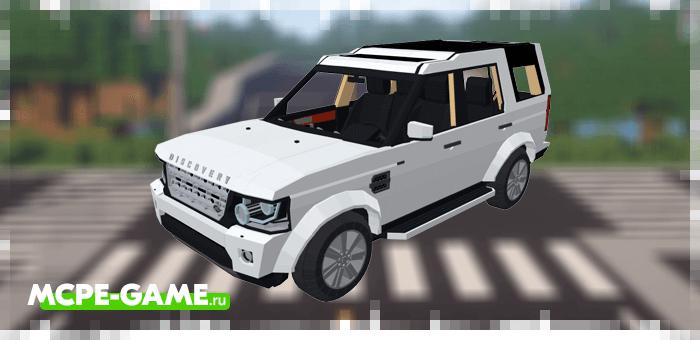 Land Rover Discovery 4 2016  в Майнкрафт