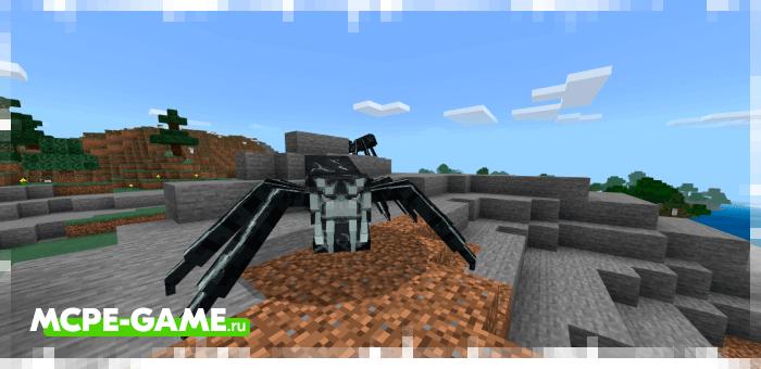 New symbiotes from the VenomCraft mod in Minecraft