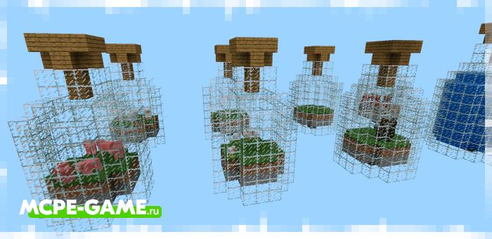 World in a Jar — Майнкрафт карта на выживание в бутылке