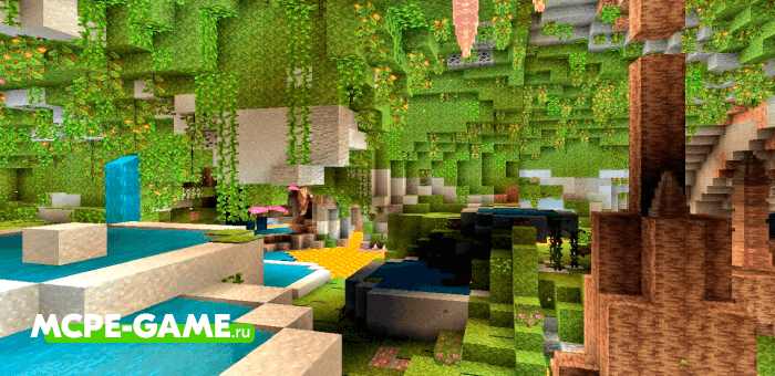 Caves & Caves — Мод на генерацию пещер, как в Майнкрафт 1.17