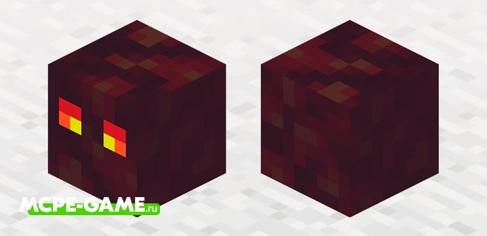 Куб Магмы из Майнкрафт 1.16.0.58